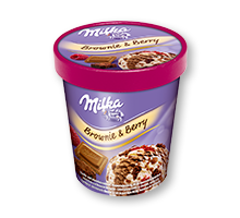 Milka Brownie & Berry 480ml