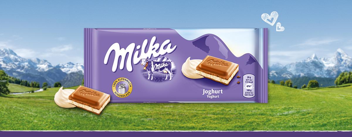 MILKA JOGHURTOS 100G
