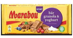 Marabou Bär, Granola & Yoghurt