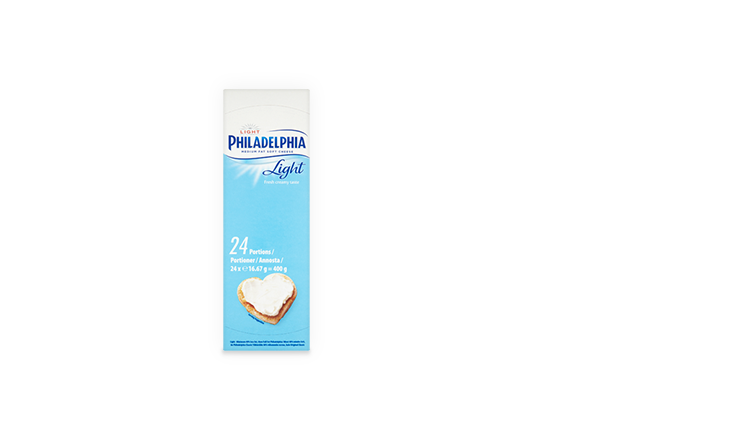Philadelphia Light Portions (24 x 16.7g)