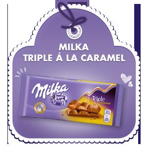 Milka Triple á la Caramel