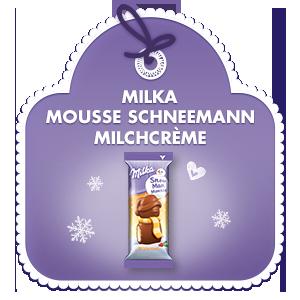 Milka Mousse Schneemann Milchcrème 30g
