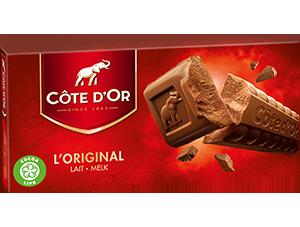 Chocolat Lait 400g Côte d'Or