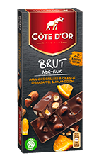 BRUT Chocolat Noir Amandes et Orange