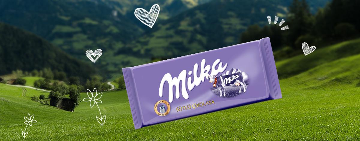 Milka Sütlü Çİkolata