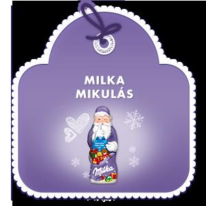 Milka Mikulás 50 g