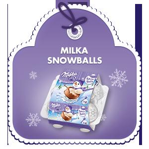 Milka Snowballs 112 g