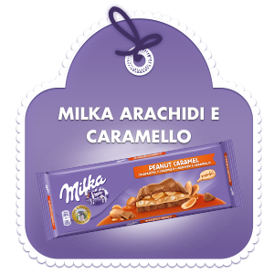 MILKA ARACHIDI E CARAMELLO 276G