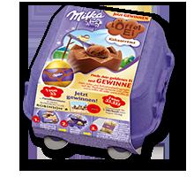 Milka Löffel-Ei Kakaocrème 136g