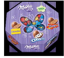 Milka Eier Mixbox 144g