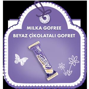 Milka Gofree Beyaz ÇİkolatalI Gofret
