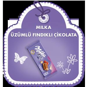 Milka Üzümlü Fındıklı Çİkolata