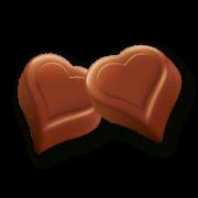 """I love Milka Geschenkherz 187g Valentinstag """"I Love You"""""""