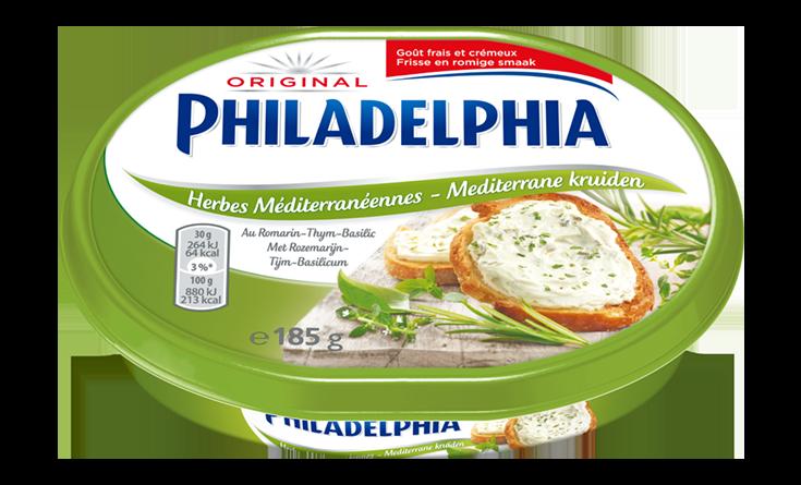 Philadelphia Mediterrane kruiden 185 g
