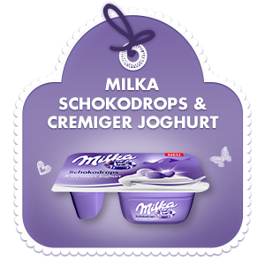 Milka Schokodrops & cremiger Joghurt
