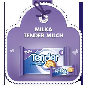 Milka Tender Milch