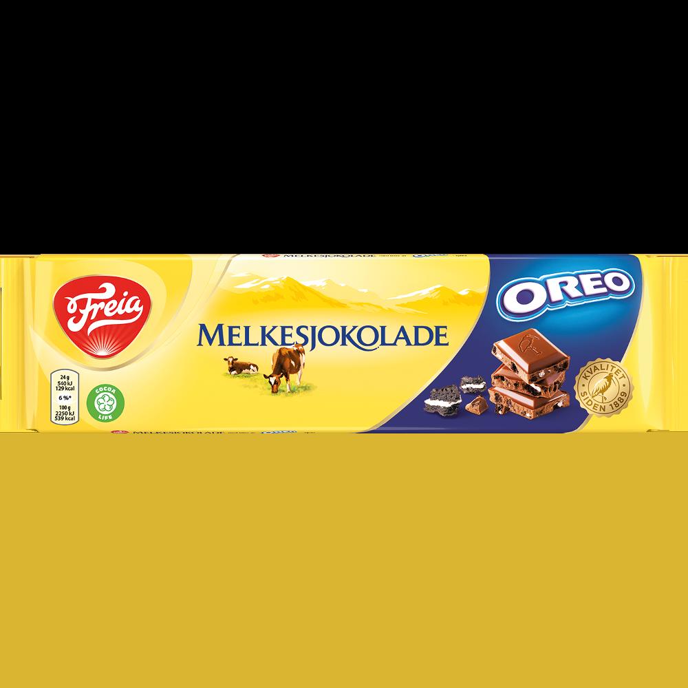 Freia Melkesjokolade med Oreo (190 g)