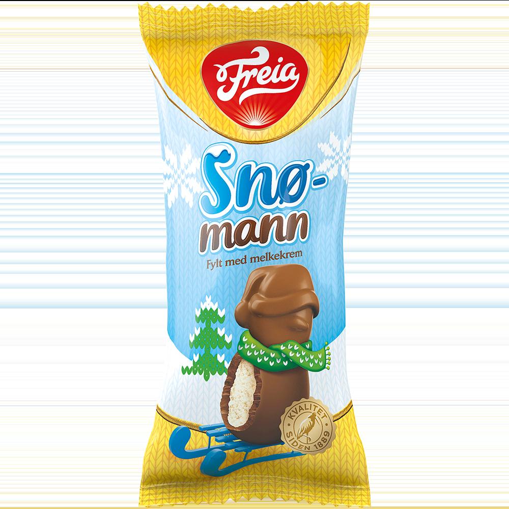 Freia Snømann (30 g)