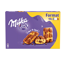 MILKA CAKE & CHOC FORMAT FAMILIAL