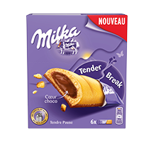 MILKA BARRE TENDER BREAK