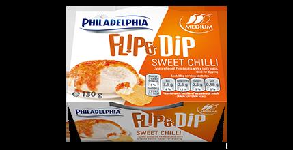 Philadelphia Flip & Dip Sweet Chili