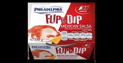 Philadelphia Flip & Dip Mexican Salsa
