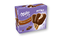Milka Chocolate & Vanilla Mini-Stieleis