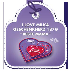 "I Love Milka 187g ""Beste Mama"""