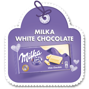 MILKA WHITE CHOCOLATE 100 g