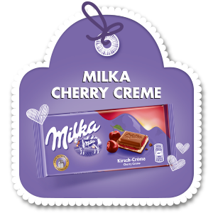 MILKA CHERRY CREME 100 g