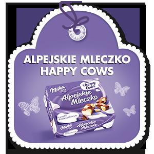 MILKA ALPEJSKIE MLECZKO HAPPY COWS 330 g