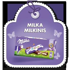 MILKA MILKINIS MILK 87 g