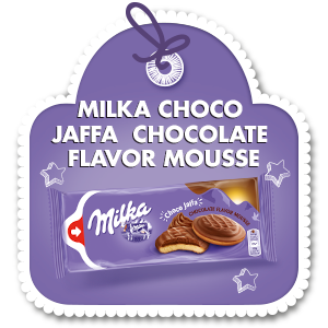 MILKA CHOCO JAFFA CHOCOLATE FLAVOR MOUSSE 128 g