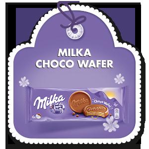 MILKA CHOCO WAFER 180 g