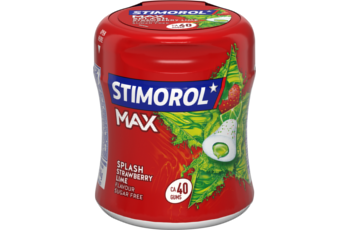 Stimorol Bottle MAX Strawberry