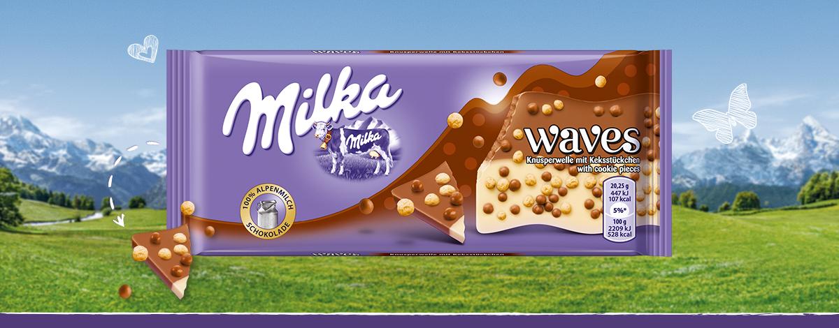 Milka Waves - Keksz