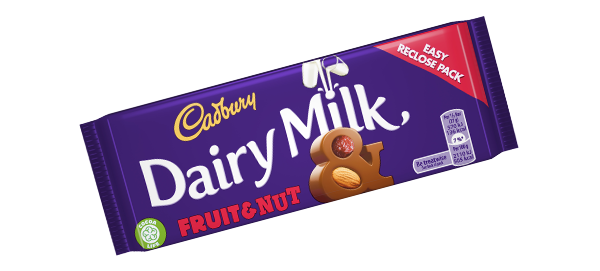 CADBURY DAIRY MILK Fruit & Nut | Cadbury.ie