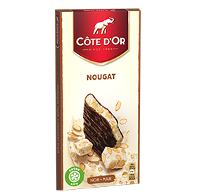 Gevulde tablet NougatThin Filled Nougat