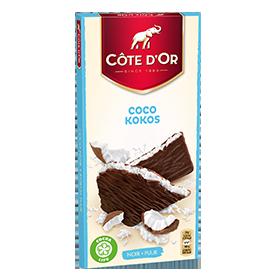 Gevulde tablet Kokos