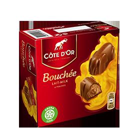 BOUCHÉES Melk (4 stuks)