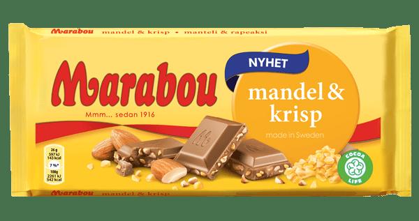 Marabou Mandel & Krisp