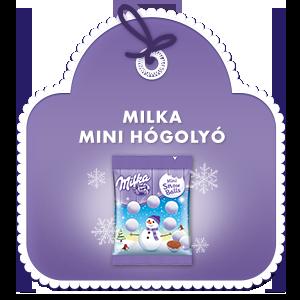 Milka Mini Hógolyó 100 g