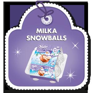 MILKA SNOWBALLS 112&nbspg