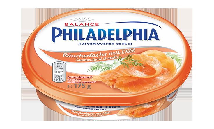 Philadelphia Saumon fumé et aneth