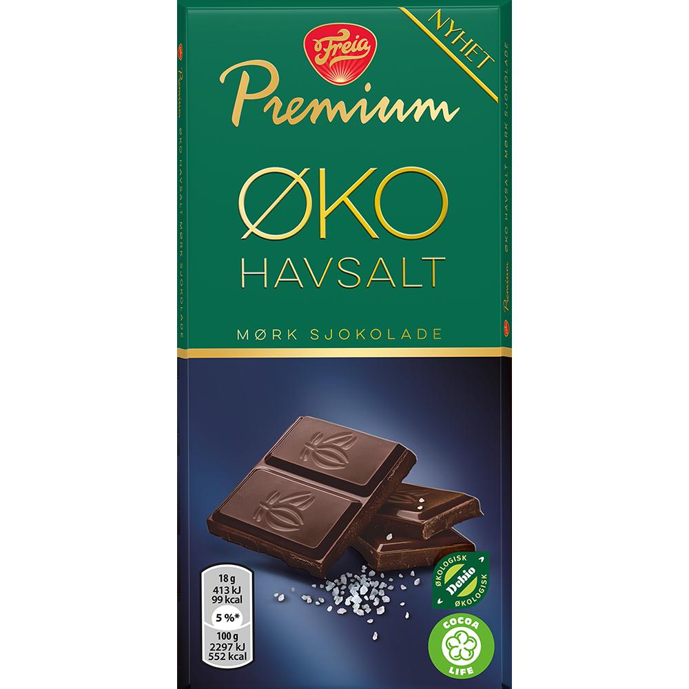 Freia Premium ØKO Havsalt (90g)