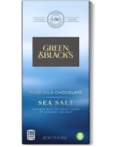 Pure Milk Chocolate Sea Salt Bar