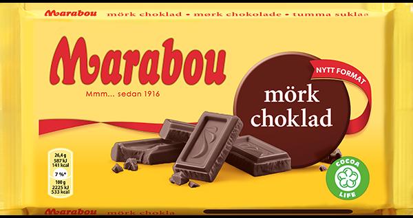 marabou choklad innehållsförteckning
