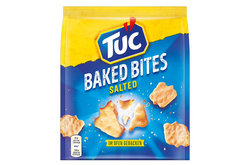 TUC Baked Bites Salted