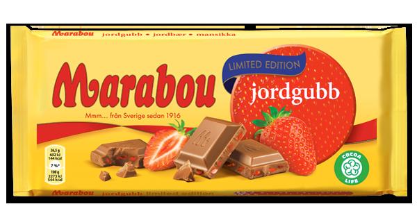 Marabou Jordgubb