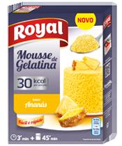Mousse de Gelatina Ananás 30Kcal
